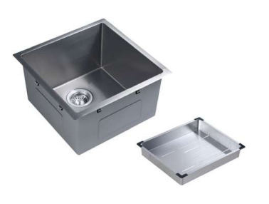 [NANO COATING] - PALERMO stainless steel sink - 450mm (single bowl)