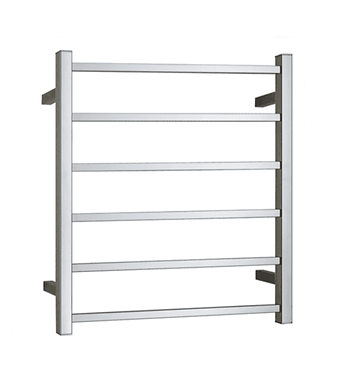Heated stainless steel towel ladder square bar (Hare wire connection)