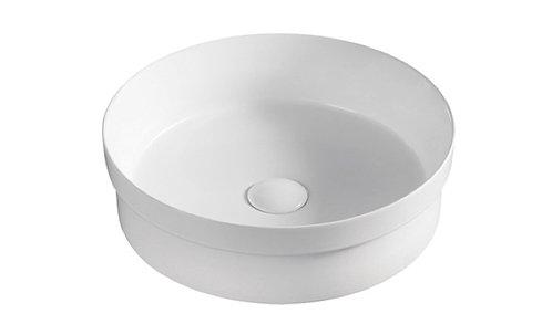 GARDINIER  round half insert basin