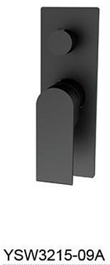 BIANCA shower mixer with divertor - Chrome/BK/Brushed nickel/Gun metal grey/BG