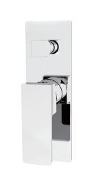 Celia shower mixer with divertor Chrome / Black