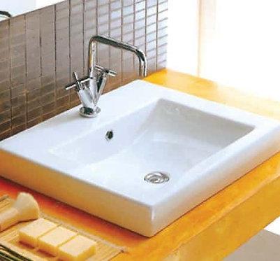 Megga 2 half insert square basin