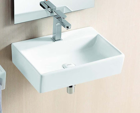 Acqua wall hung basin with bracket
