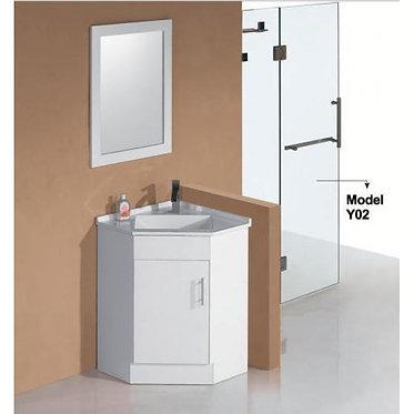 600mm Corner vanity