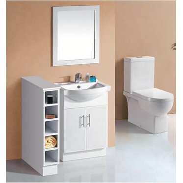600mm Semi-recess vanity
