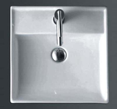 Niko square above counter basin