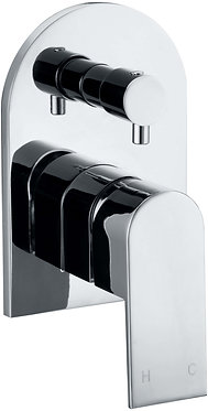 Leena shower mixer with divertor