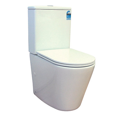 [NEW] Rimless Wall Facing Toilet Suite
