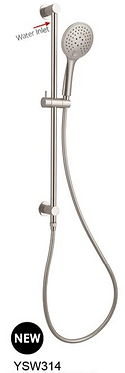 DOLCE 3 function shower rail  4 colors