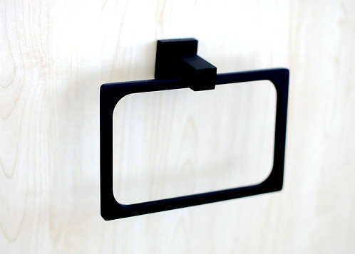 Curo square hand towel ring