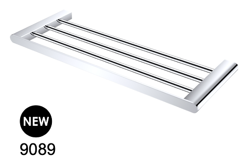 BIANCA 600mm towel rack - Chrome/BK/Brushed nickel/Gun metal grey