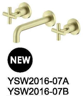 X PLUS wall basin set 180/215mm