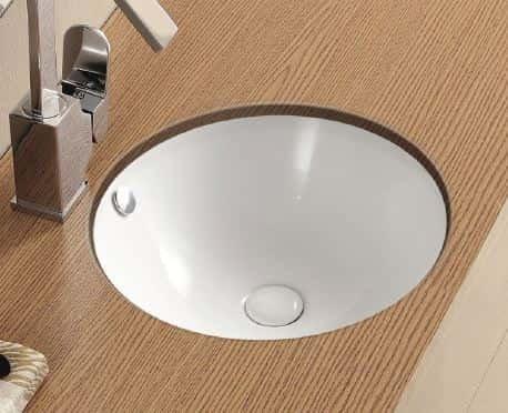 Reno under counter basin (fully glazed)