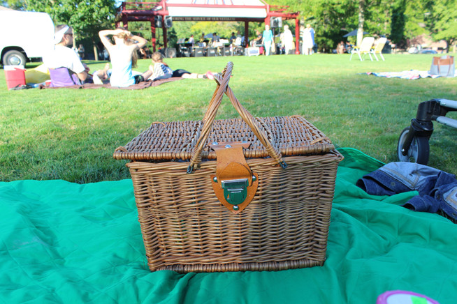 A Picnic in the Park with Live Jazz and Appreciating a Small Town