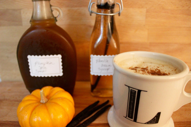 Warm Up Your Morning Coffee Routine | Pumpkin Spice Syrup & Vanilla Bean Syrup