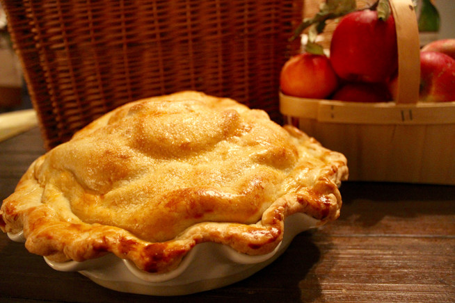 Sunday Supper | Old-Fashioned Apple Pie
