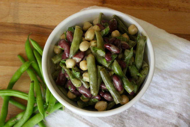 3-Bean Salad | The Perfect Potluck Side Dish