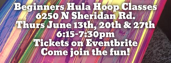 Hul Hoop Classes in Edgewater Chicago