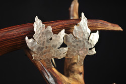 Maple Leaves in Silver (SOLD)