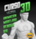 CARTEL CURSO 3D LINTERNA PRODUCCIONES CO