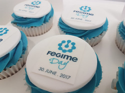 Branded Cupcakes
