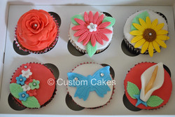 Fondant Flower Assorted Box
