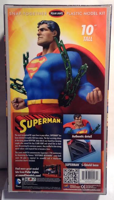 75th Anniversary Superman Model