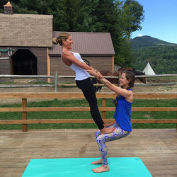#TBT to fun #acroyoga shenanigans with the #vibetribe at the 143 Bliss Retreat last year