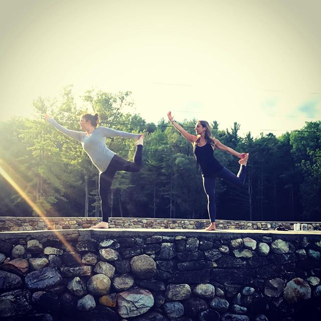 I absolutely love this picture of _molliemarrocco and _stepha6 from our last retreat