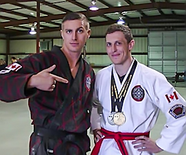 Hapkido Program Hiltz Hapkido at Ontario Breaking Chapionships (OBC)