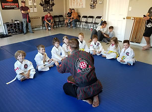 Tiny Tigers martial arts program a Hiltz Hapkido for kid ages 4 to 6