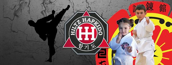 Facebook banner 2019 for Hiltz Hapkido with Shirenkan (SSKR) logo