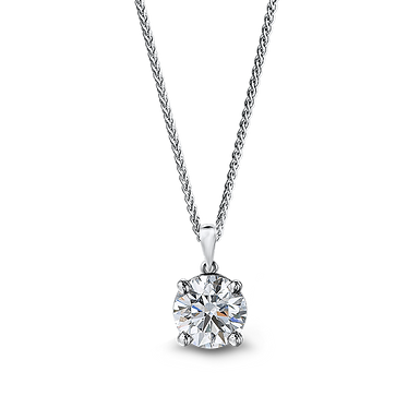 OneLoveYou, Pendentif Diamant Solitaire Or 18 carats