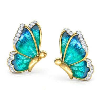 Ghaum by Ghaum, Boucles d'Oreilles Diamant Or Jaune 18 carats