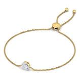 Bracelet femme diamant or 18 carats