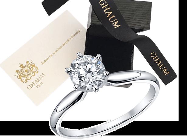 Joaillerie - Ghaum Joaillerie en ligne Bijouterie en ligne, Bague Diamant | 100% Fabriqué en France | Paris