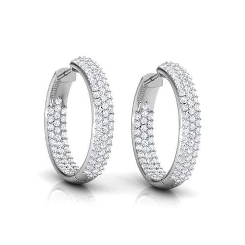PARYS, Boucles d'Oreilles Diamants pour Femme Or 18 carats