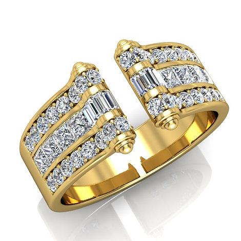 VENDOME ROYALE, Bague Diamants Joaillerie pour Femme Or Jaune 18 carats