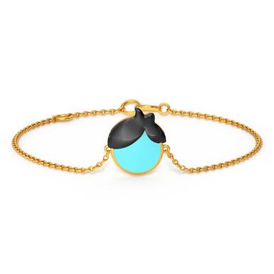 Petit Beaunom, Bracelet Or Jaune 14 carats pour Garçon
