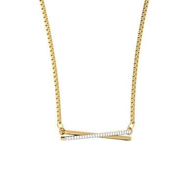 AMOUR, Collier pendentif diamant pour femme Or 18 carats