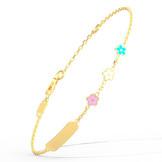 Joaillerie Ghaum Bracelet Enfant Or 18 Carats