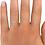 """Thumbnail: Duo """"U&Me"""" Bagues Diamants et Solitaire pour Femme Or 18 carats"""