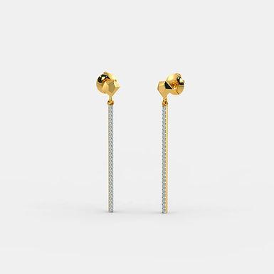 Hopy by GHAUM, Boucles d'Oreilles Diamants Or 18 carats