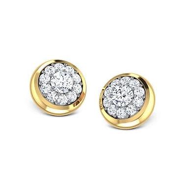 LISA, Boucles d'Oreilles Diamants pour Femme Or 18 carats