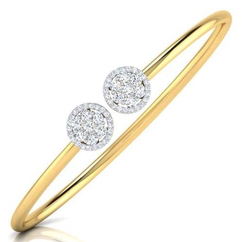 MARGOT, bracelet diamants pour femme or jaune 18 carats