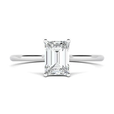 Cynthia, Bague Diamant Solitaire à partir de 0,50 ct / F / VVS Or 18 carats