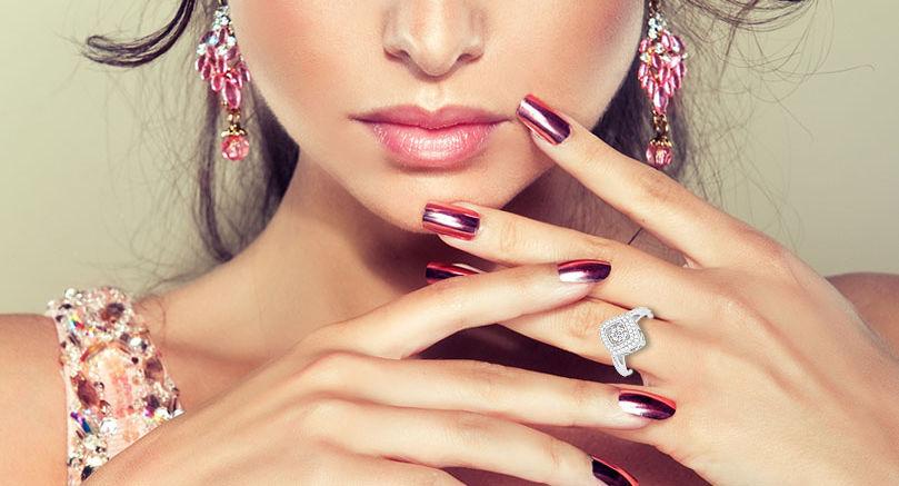 Diamant Dansant losange Ghaum Joaillerie