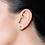 """Thumbnail: Boucles d'Oreilles """"Puces"""" 2 x 0,22 ct Diamant Solitaire Or Jaune 18 carats"""