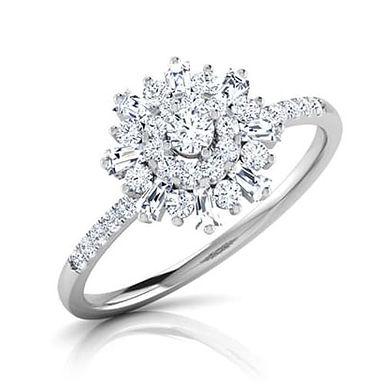 CAMERON FbyG, Bague Diamant Joaillerie pour Femme Or 18 carats 750°