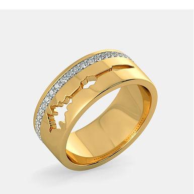 Bague Alliance Diamants Mixte Or 18 carats, FAM&HOM